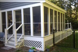 Rick Villandry Remodeling Carpenter - screened-porch